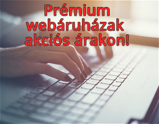 Okos webáruház készítés, webshop